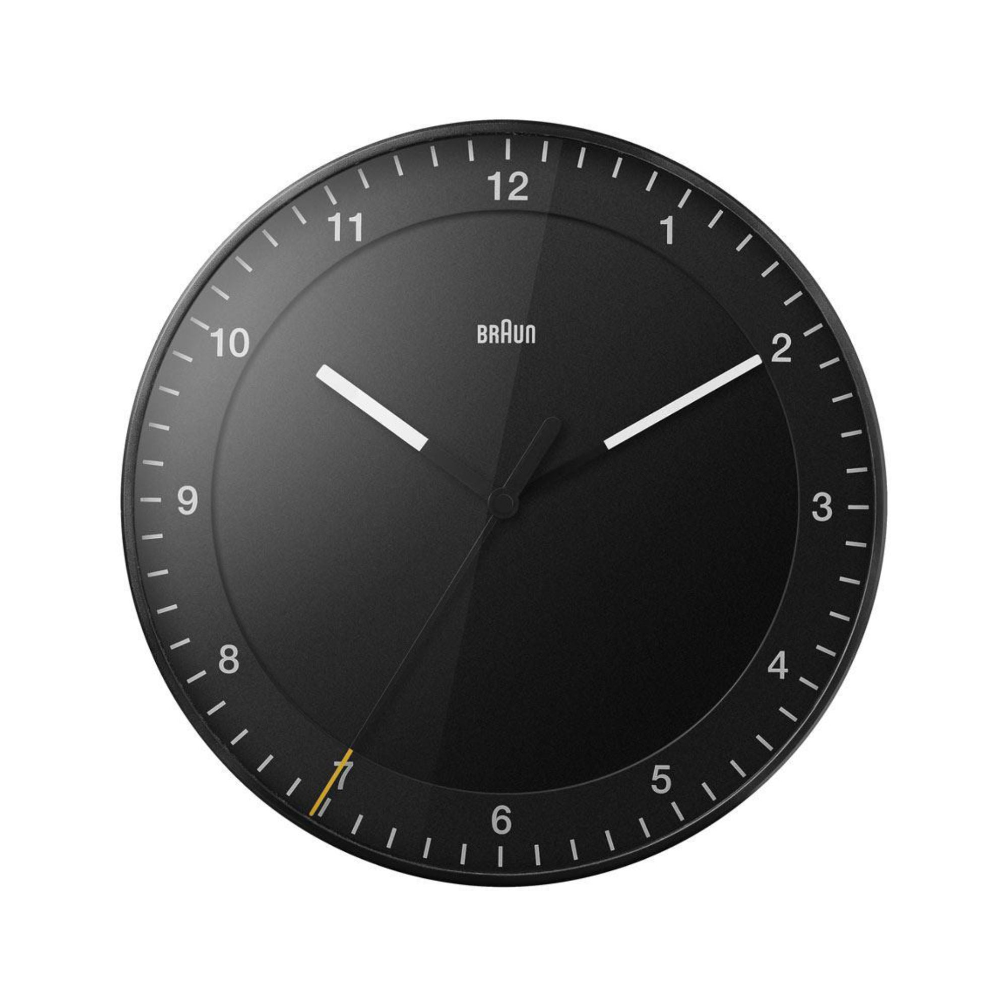 Braun BC17 Wall Clock , Black