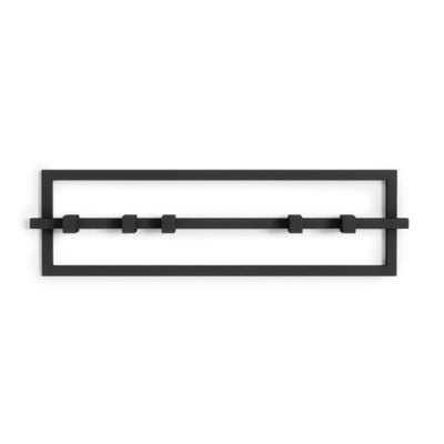 Umbra Cubiko 5 Hook , Black