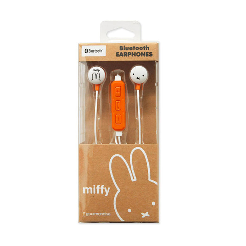 Miffy Bluetooth Earphones, white
