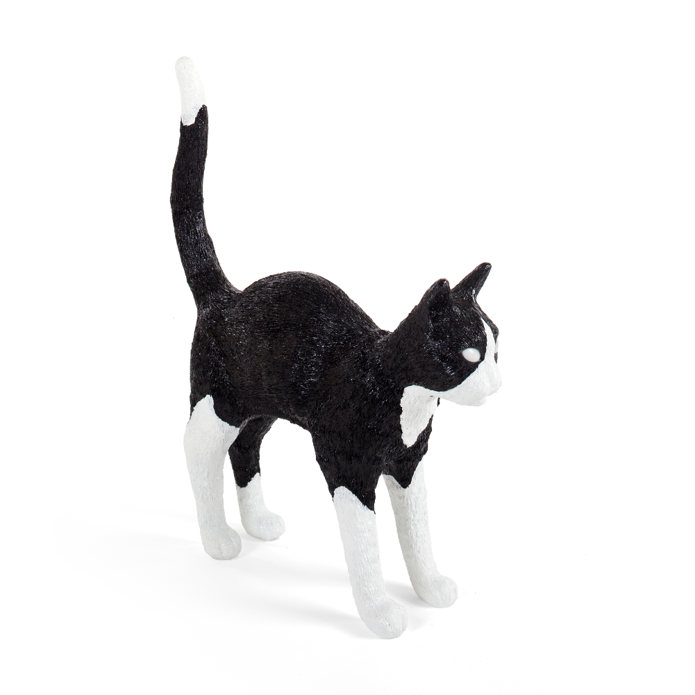 Seletti Jobby The Cat, black & white