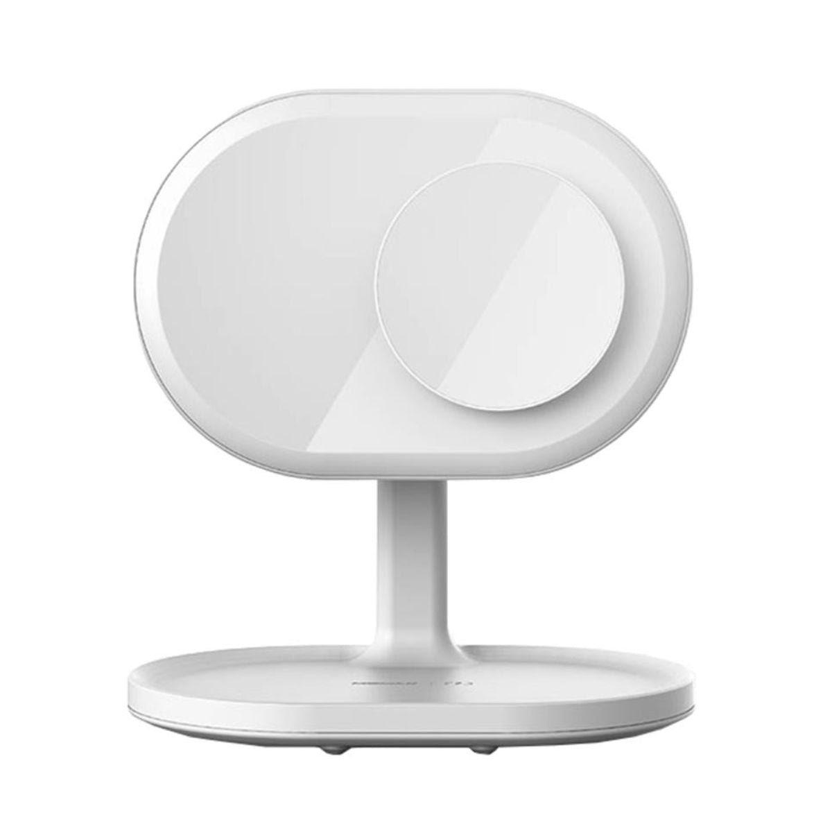 Q.Led mirror with wireless charging and bluetooth speaker