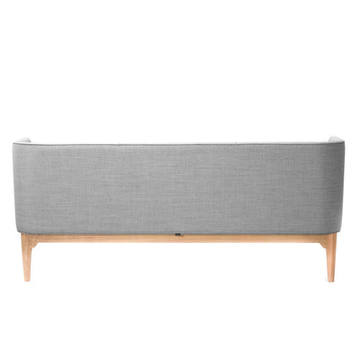 &Tradition AJ5 Mayor Three Seater Sofa, white oak - Hallingdal 130