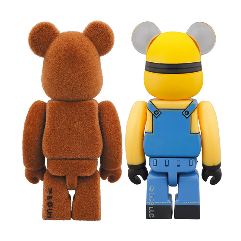 BE@RBRICK Tim & Bob 100%