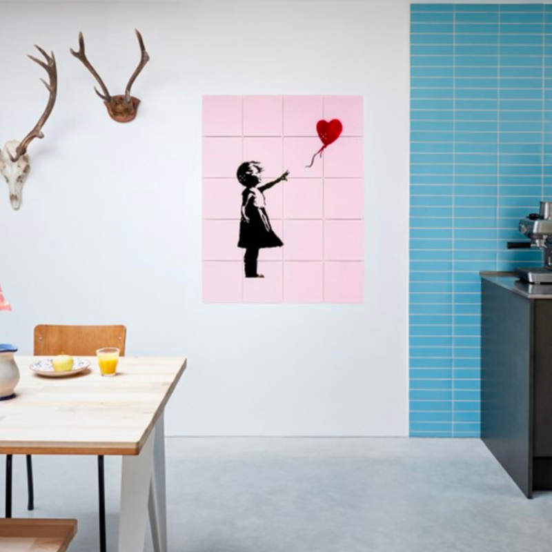 IXXI Banksy Love Icons