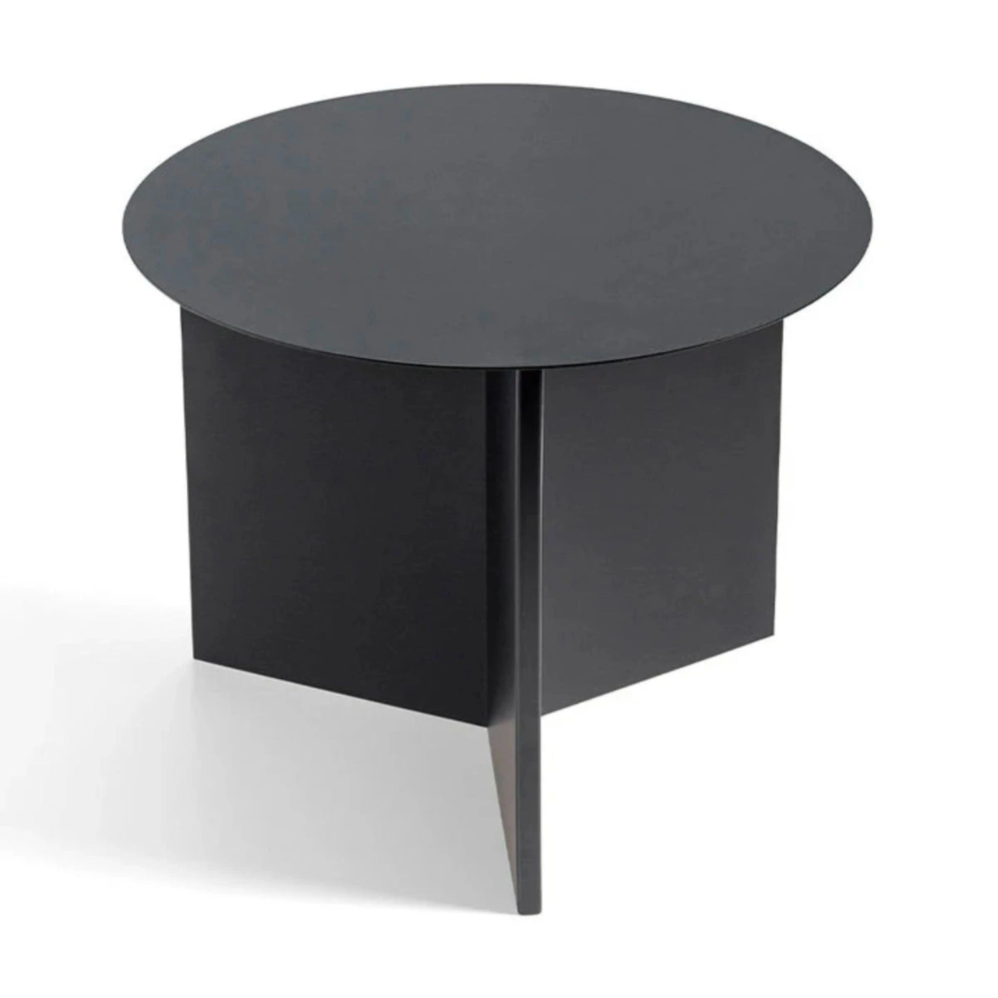 Hay Slit Coffee Table Round Φ45 , Black