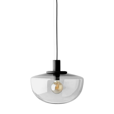 Menu Bank Pendant , Smoke Glass