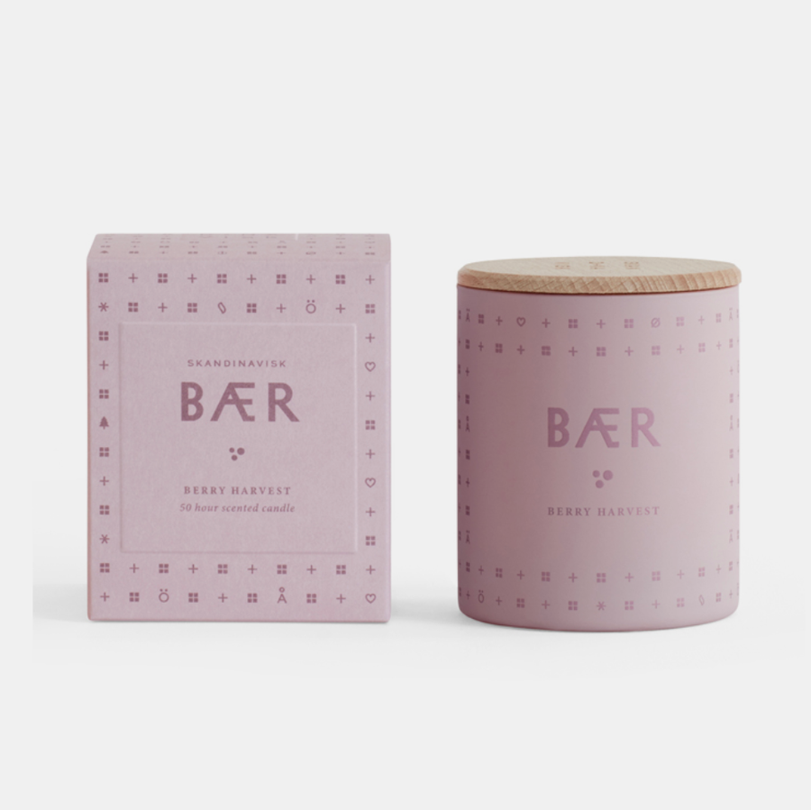 Scented Candle . BÆR