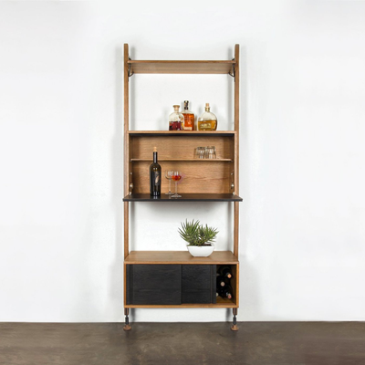 District 8 Theo Wall Unit with Bar Counter
