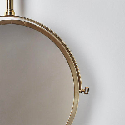 DCW My best Enemy mirror, polished brass