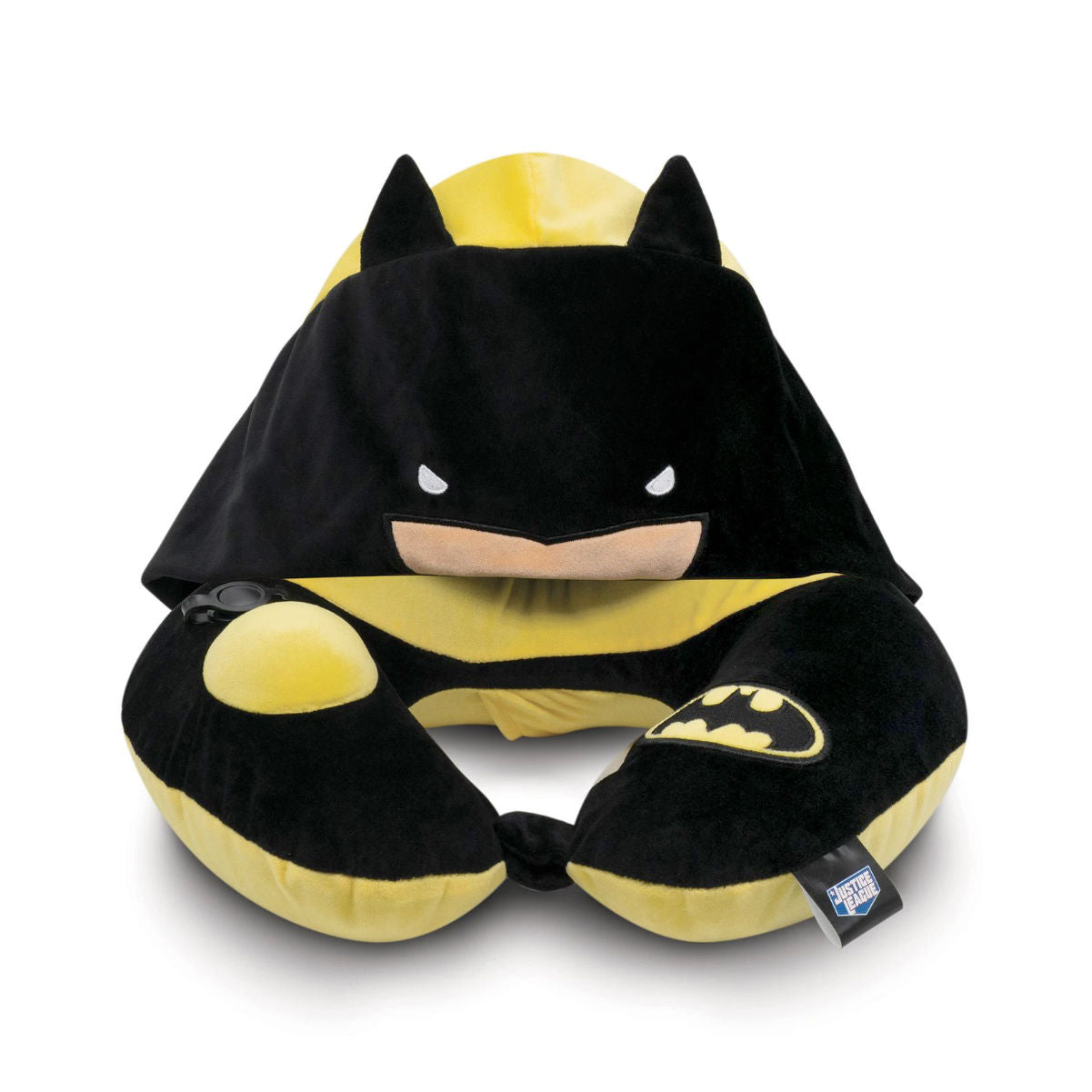 Welly Justice League neck pillow with hood batman