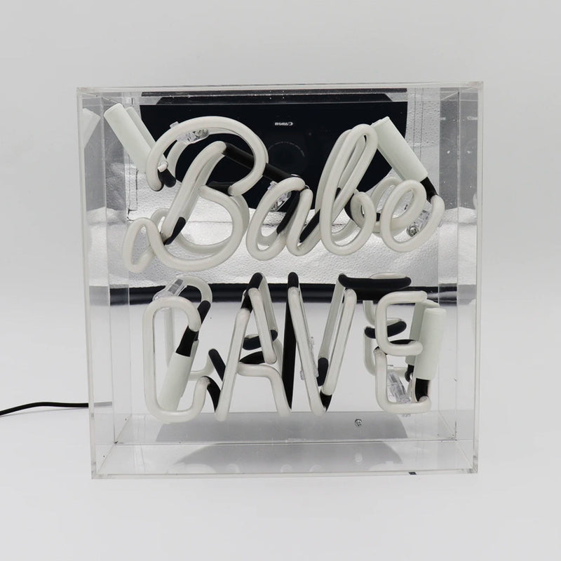 Locomocean Babe Cave Acrylic Box Neon Light