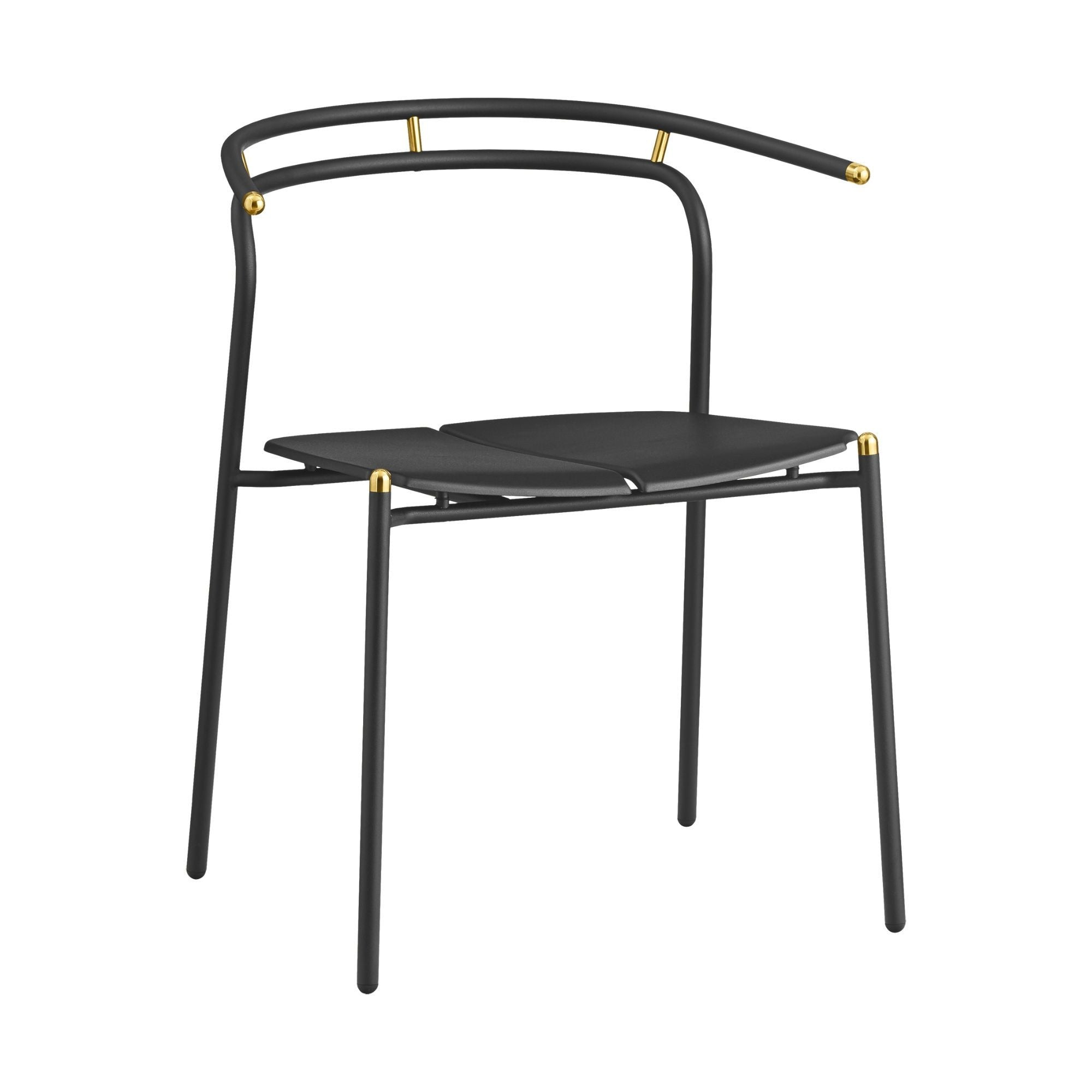 AYTM NOVO dining chair , black - gold