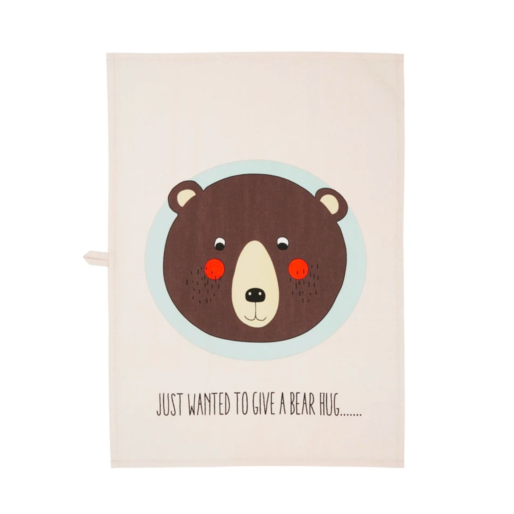 OYOY Tea Towel Bear