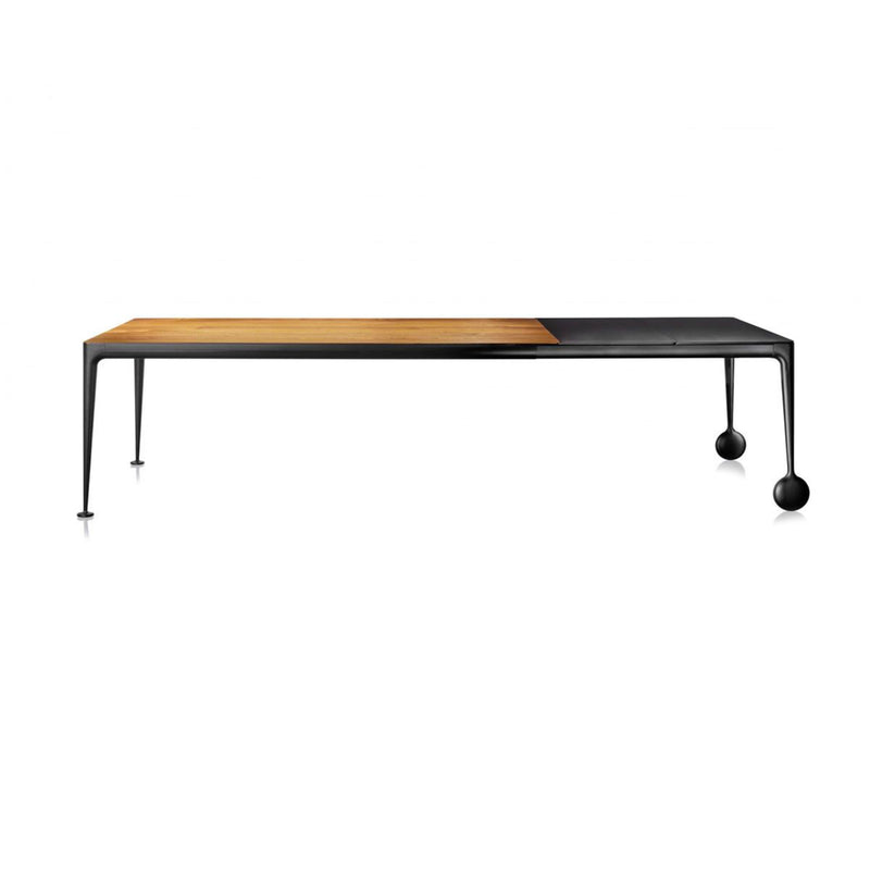 Magis Big Will Extendable Table L200/300xW100 , Walnut-Black