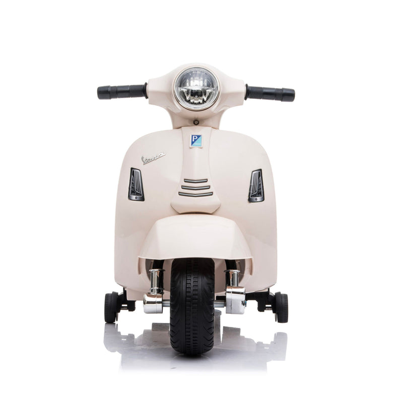 Mini Vespa GTS Scooter 6V Electric Ride On , Cream