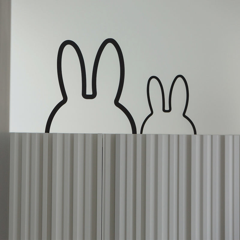 Miffy Shaped Wooden Wall Decor