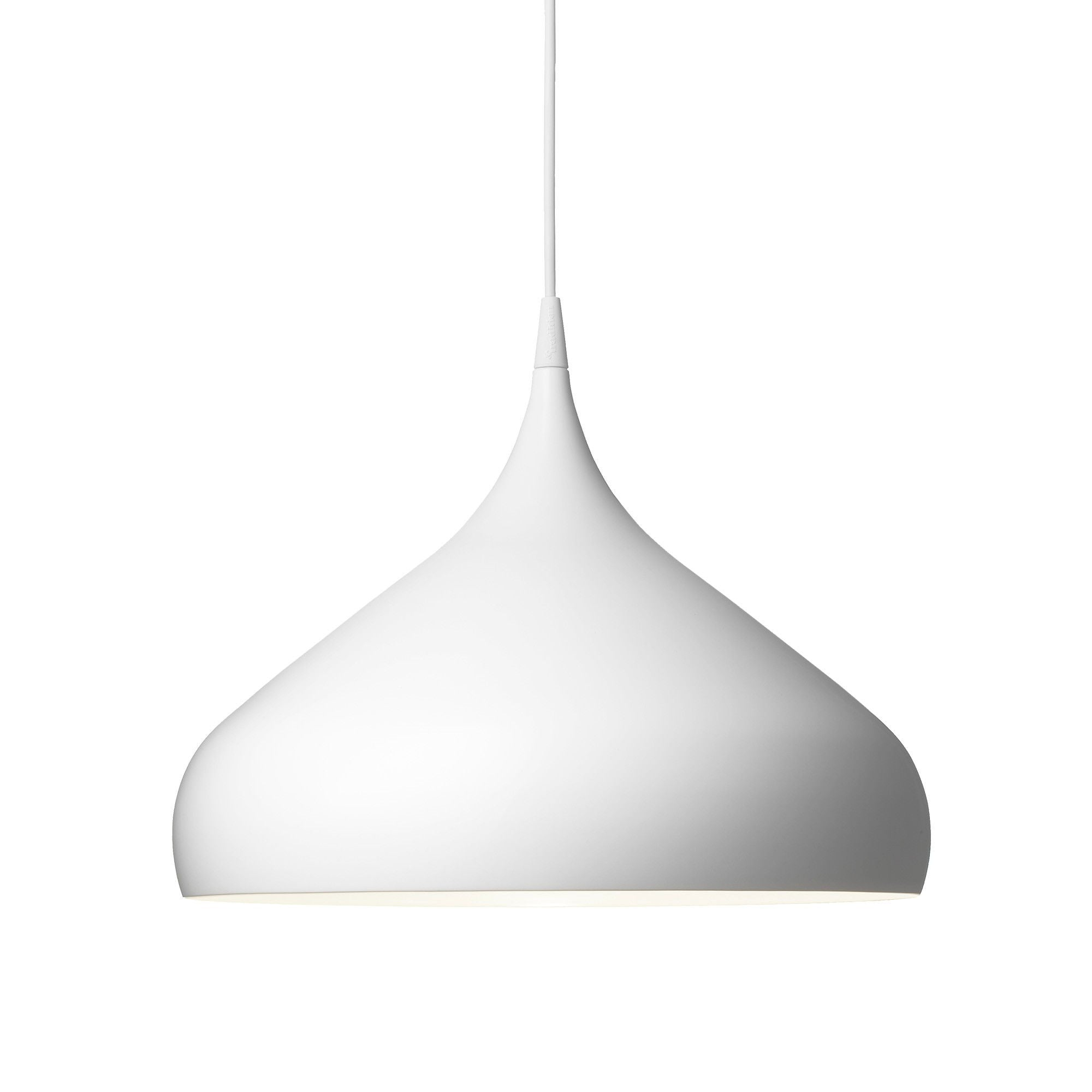 &Tradition BH2 Spinning pendant lamp, matt white