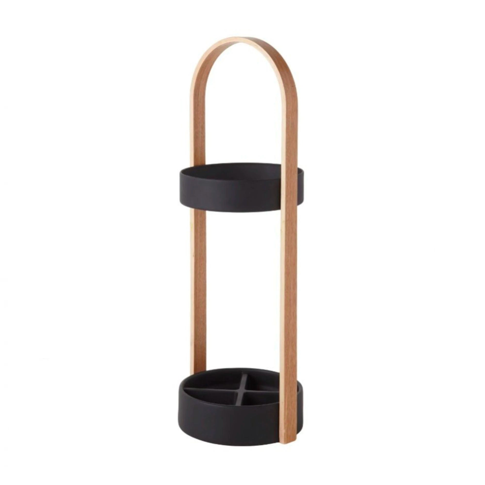 Umbra Hub umbrella stand, natural - black