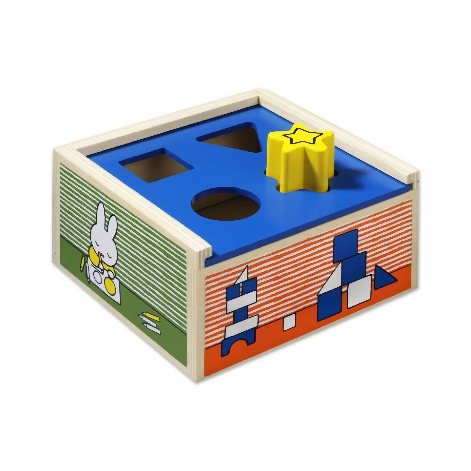 Miffy Sorting Box Wooden Shape Sorter