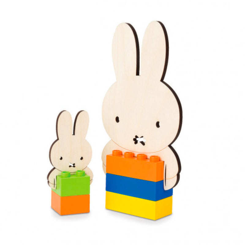 Biobuddi Miffy Family brick toy