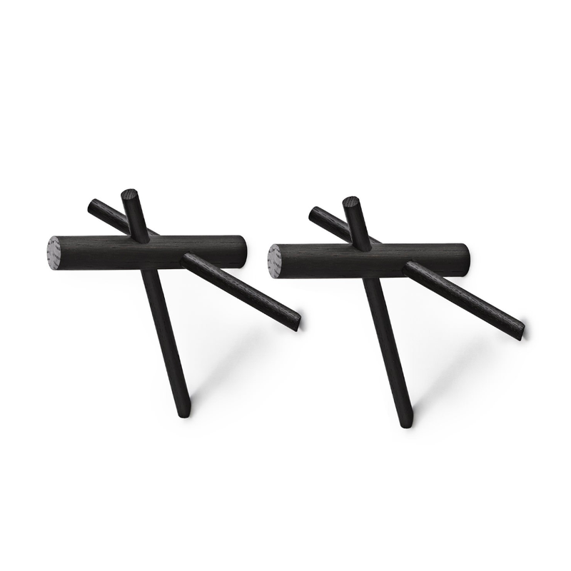 Normann Copenhagen Sticks Hook Set of 2