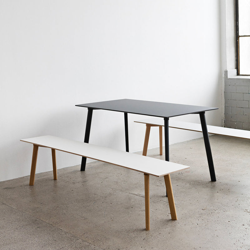 CPH Deux 210 table L140 x W75 , Ink Black