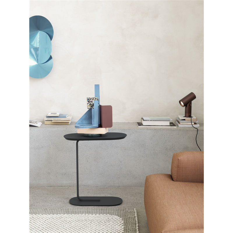 Muuto Relate Side Table , Black