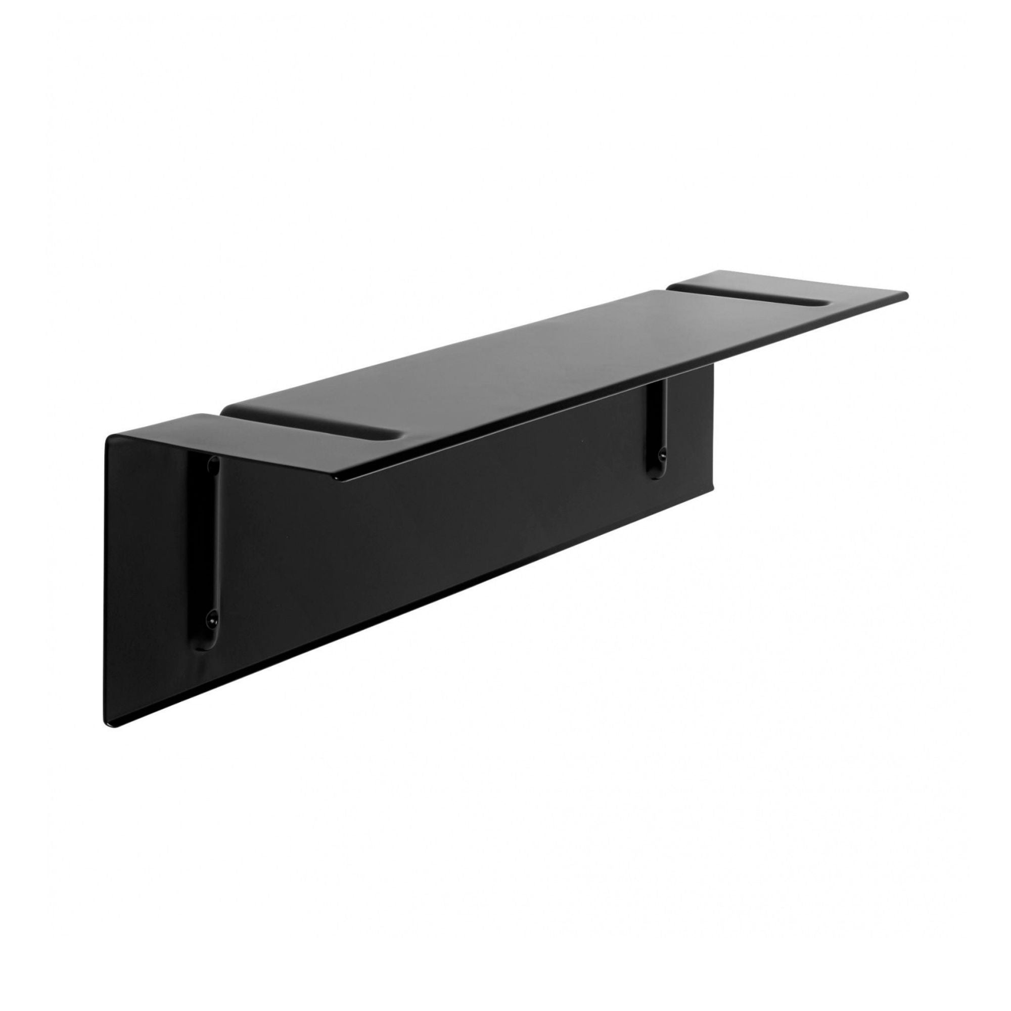 Hay Brackets Incl. Wall Shelf L60 , Black