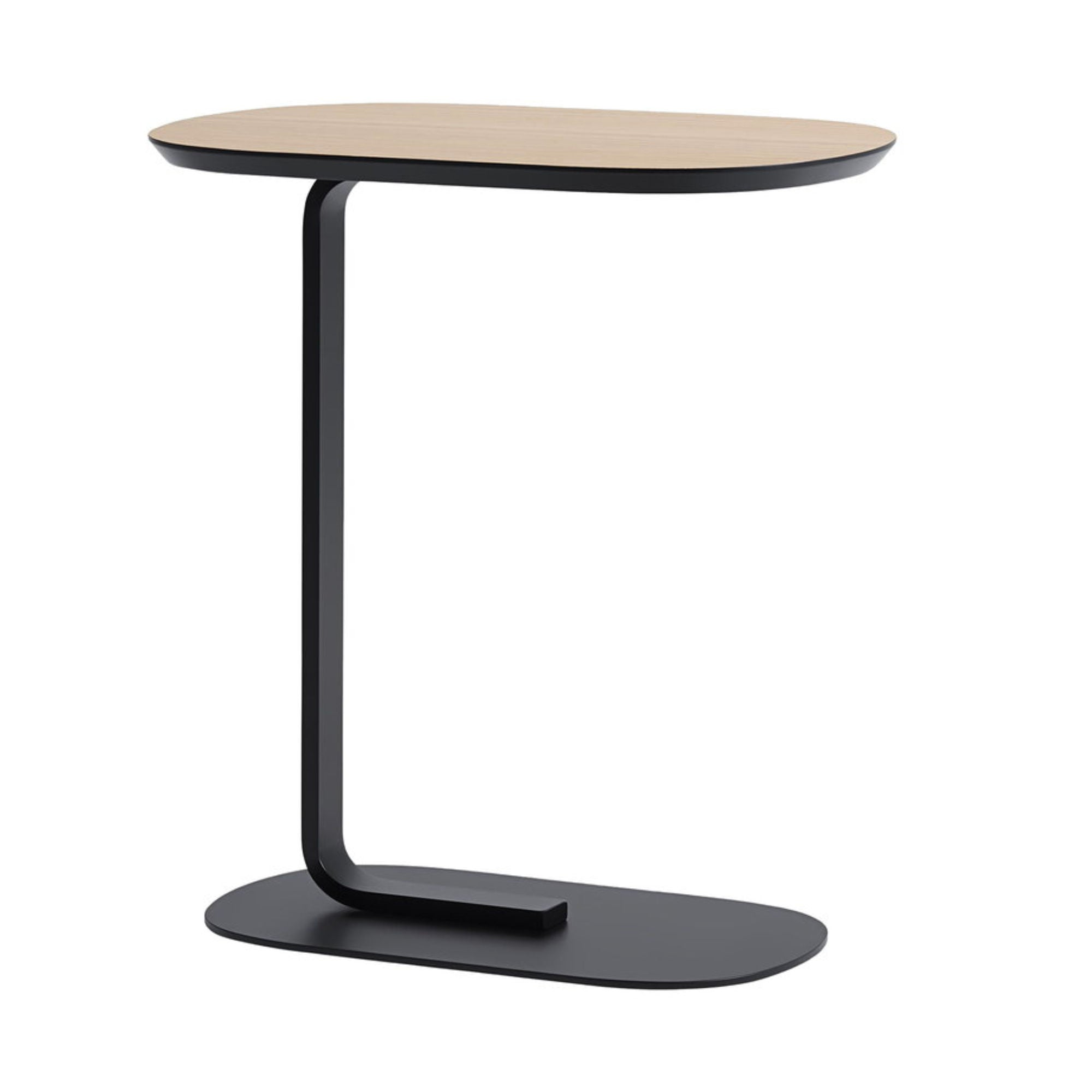 Muuto Relate Side Table , Oak-Black