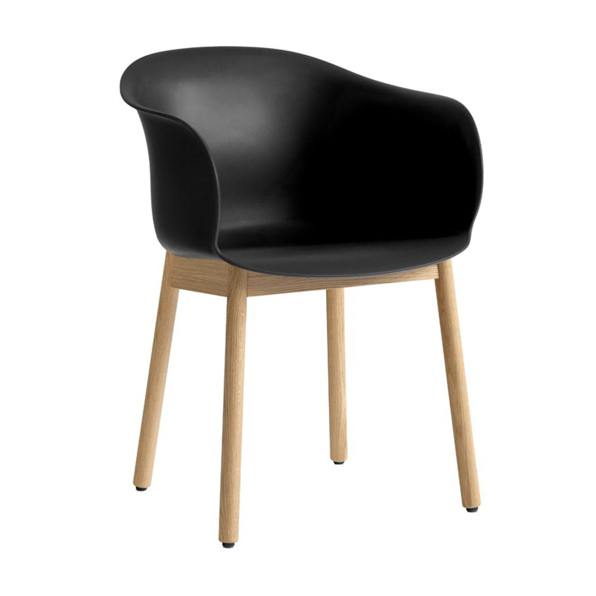 &Tradition JH30 Elefy Chair , Black - Oak