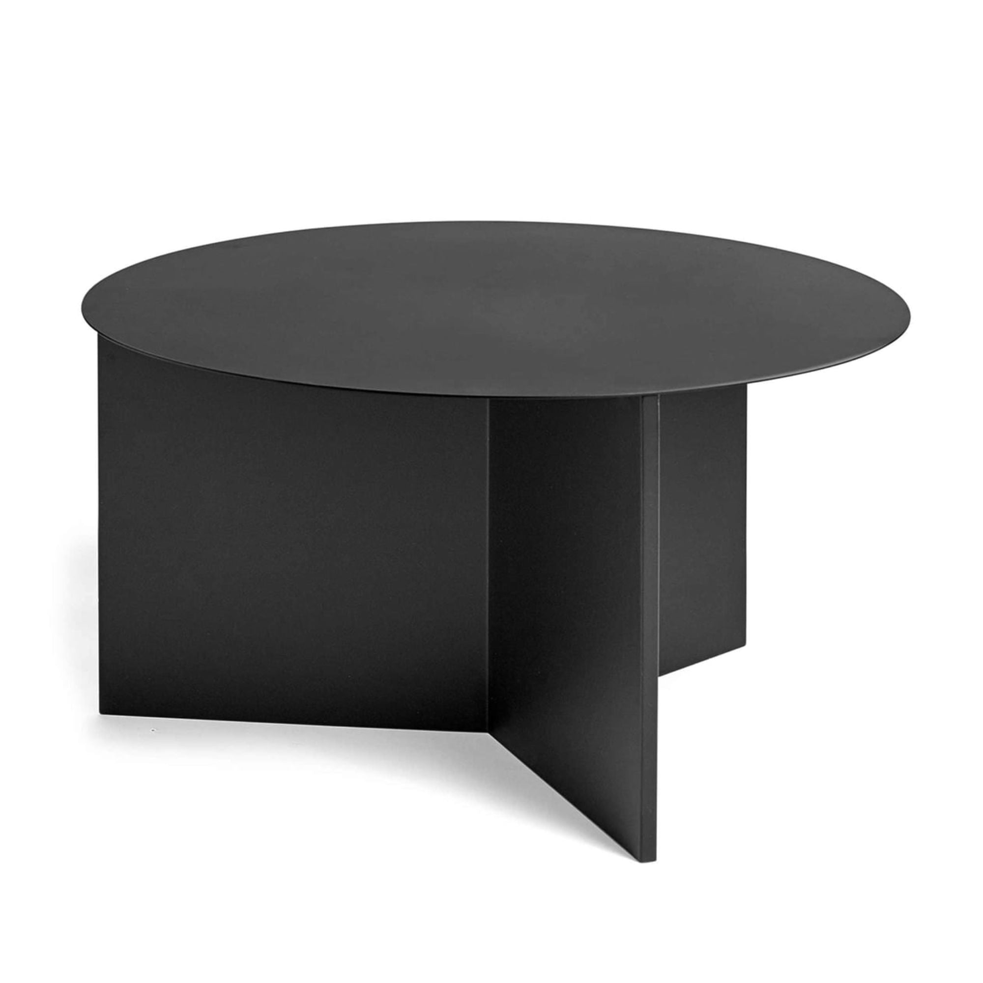 Hay Slit Coffee Table Round XL Φ65 , Black
