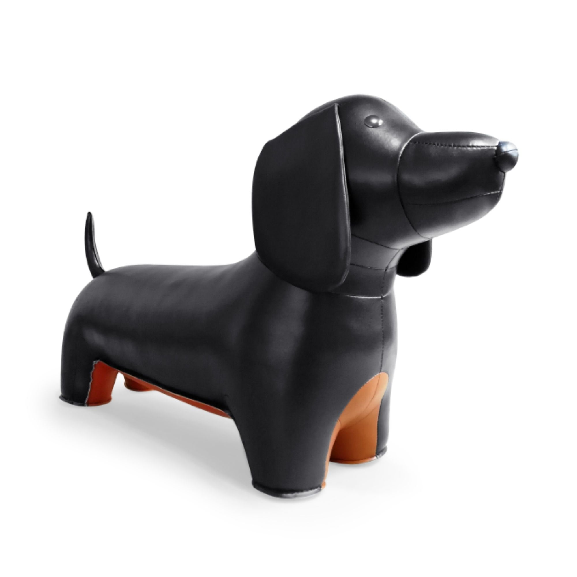 Zuny Teckel Animal Stool , Black