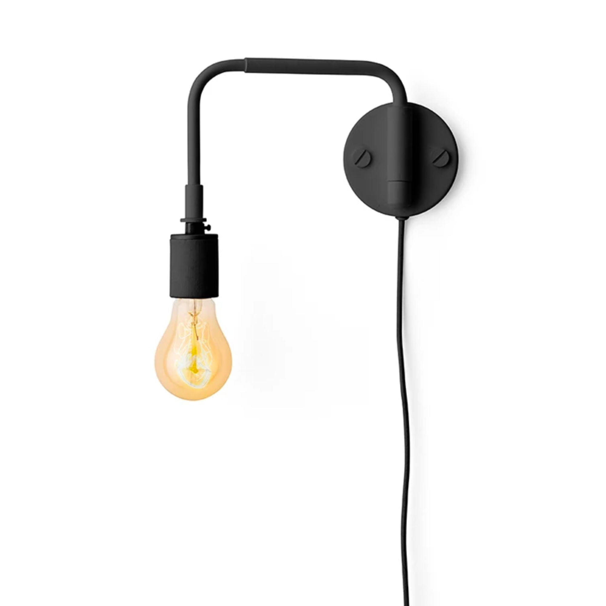 Menu Tribeca Staple Wall Lamp , Black