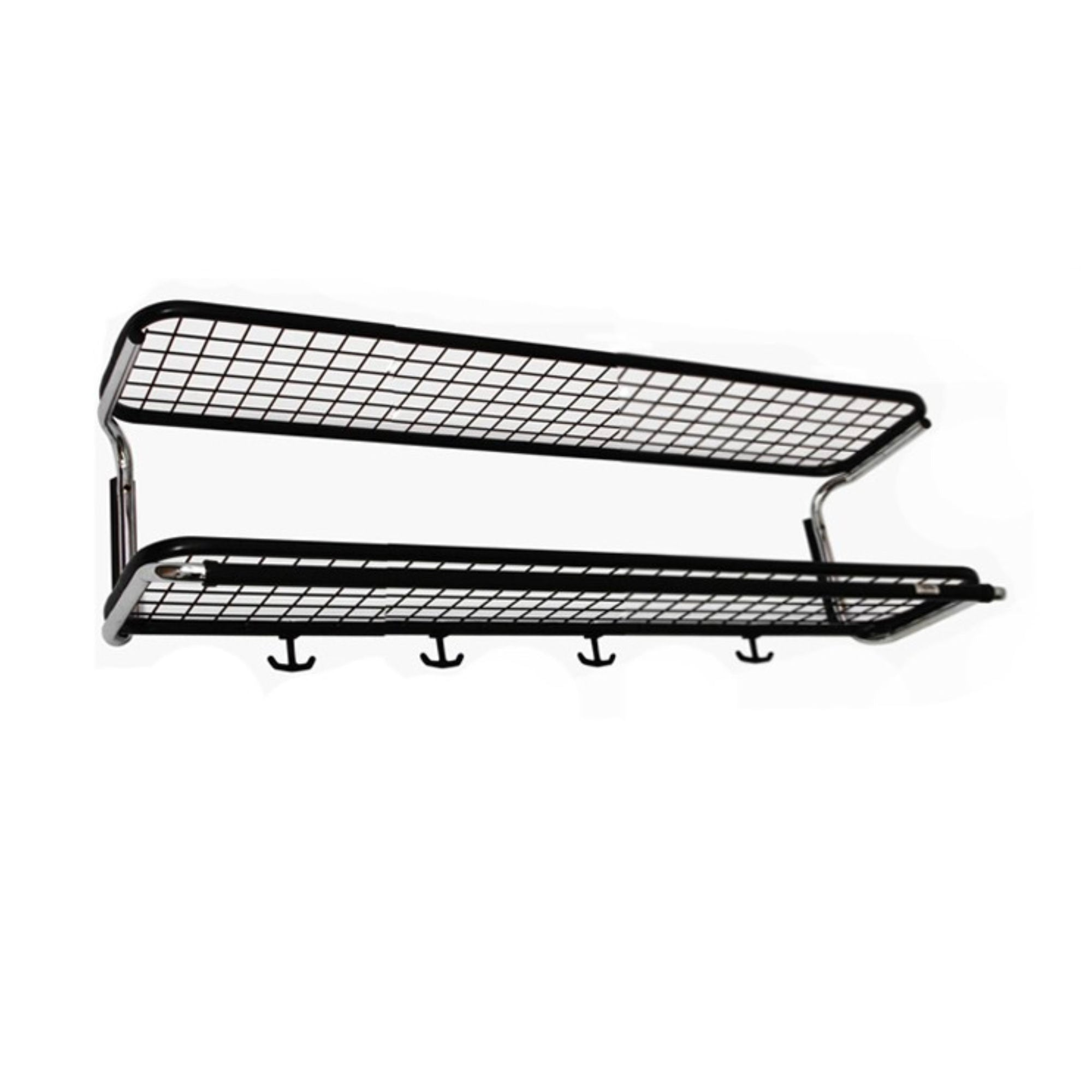 Essem Design Classic 650s hat rack, black chrome