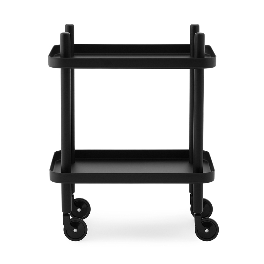 Normann Copenhagen Block Table Black 35x50xh64cm