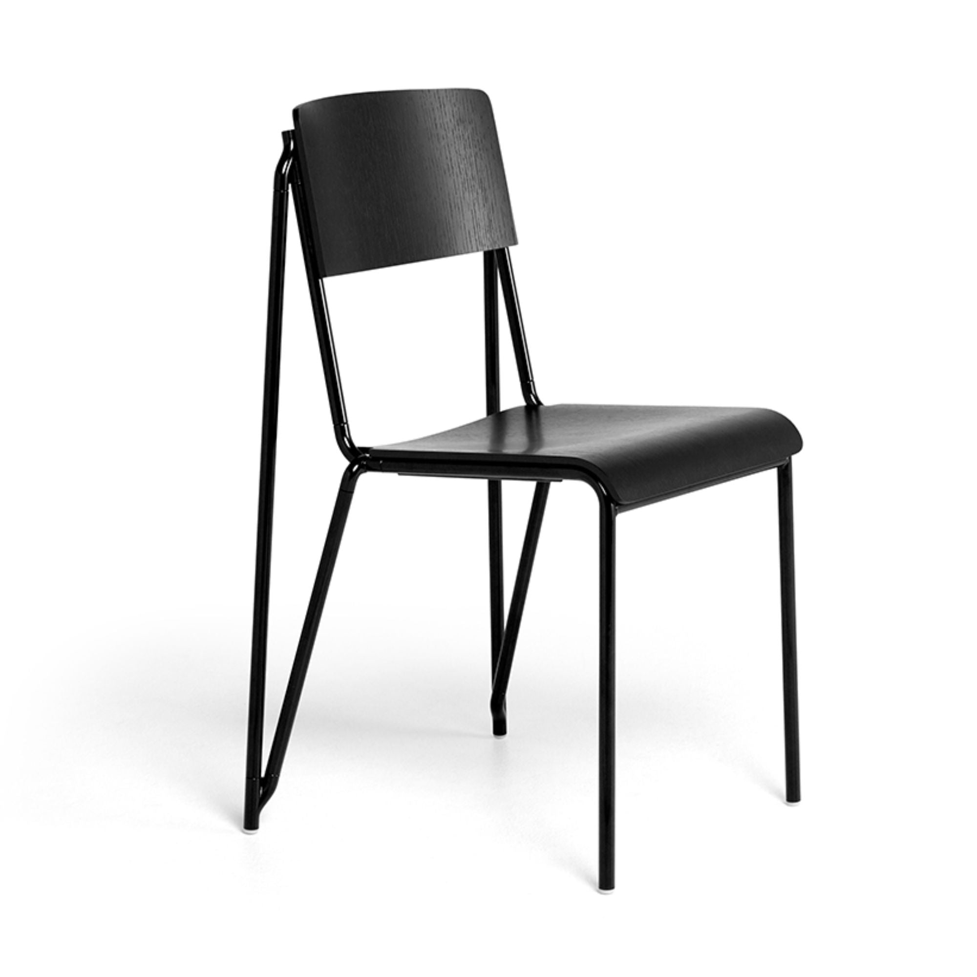 Hay Petit Standard Chair , Black