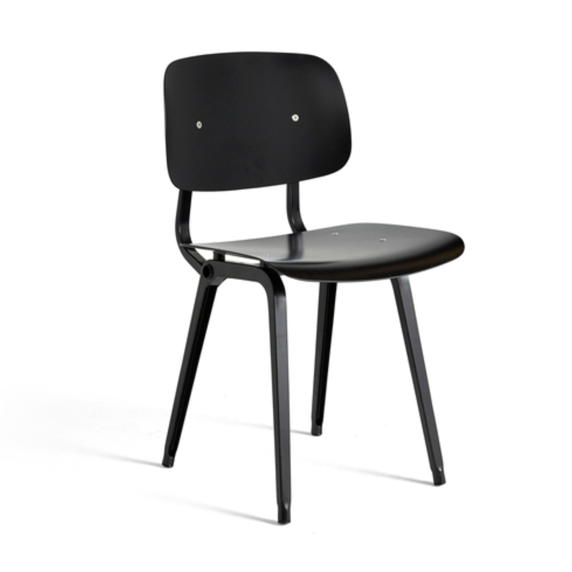 Hay Revolt Chair , Black-Black