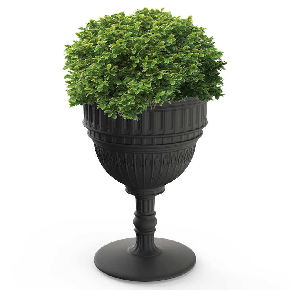 Qeeboo Capitol Planter & Champagne Cooler
