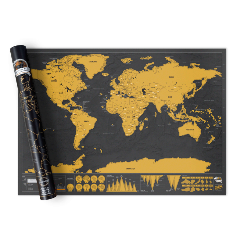 Luckies Scratch Map® Deluxe