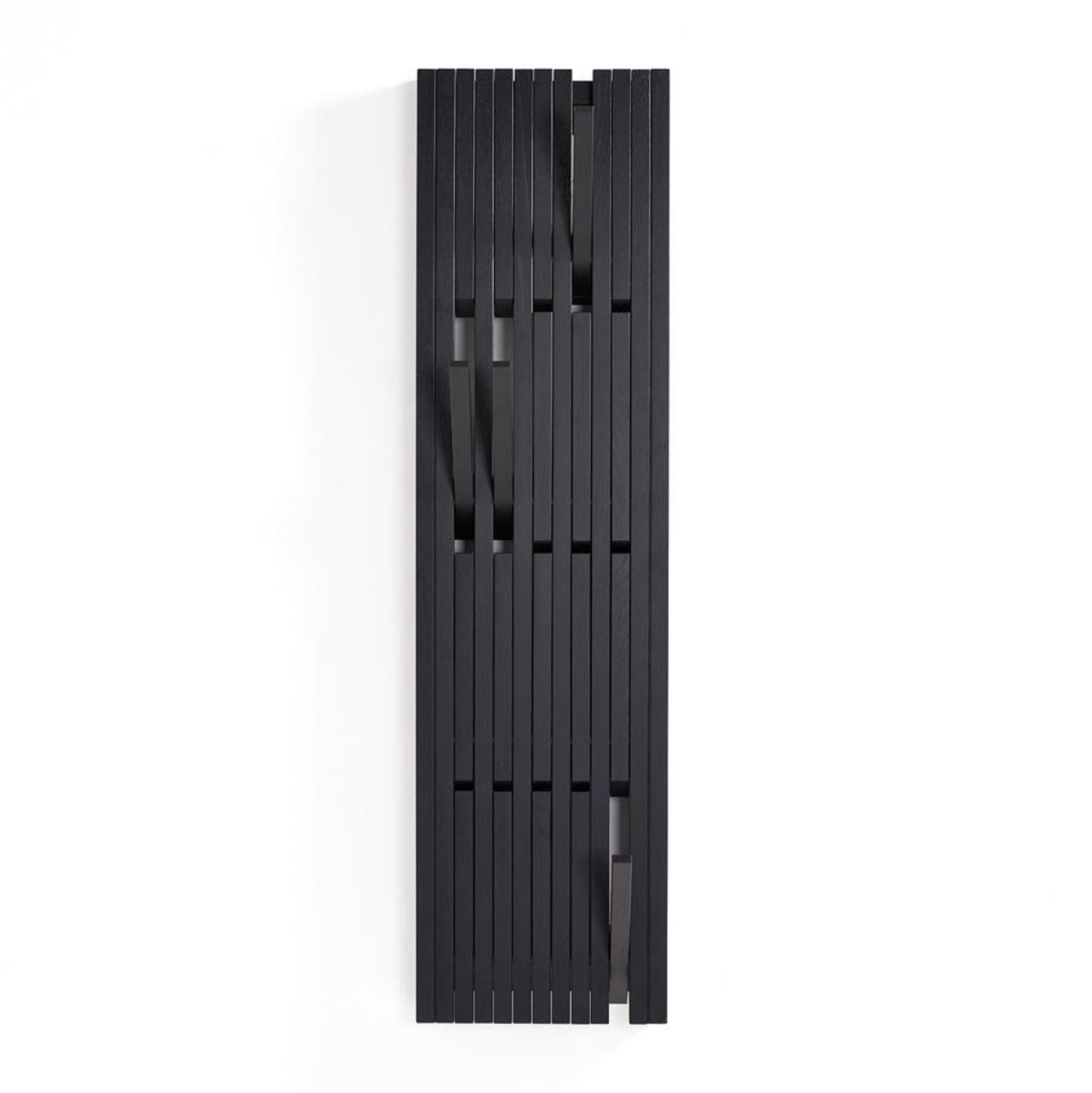 Peruse Piano hanger panel, Small - Oak Painted black