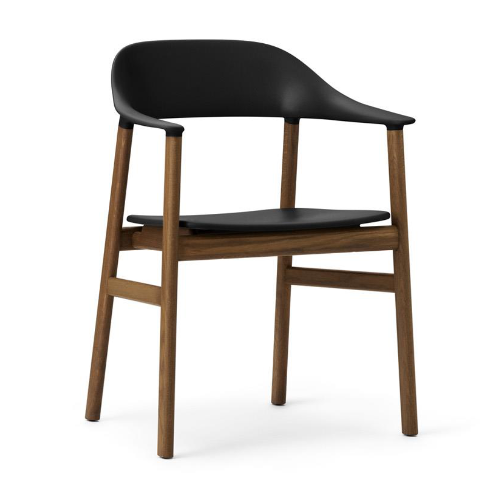 Normann Copenhagen Herit Armchair Smoked Oak Frame