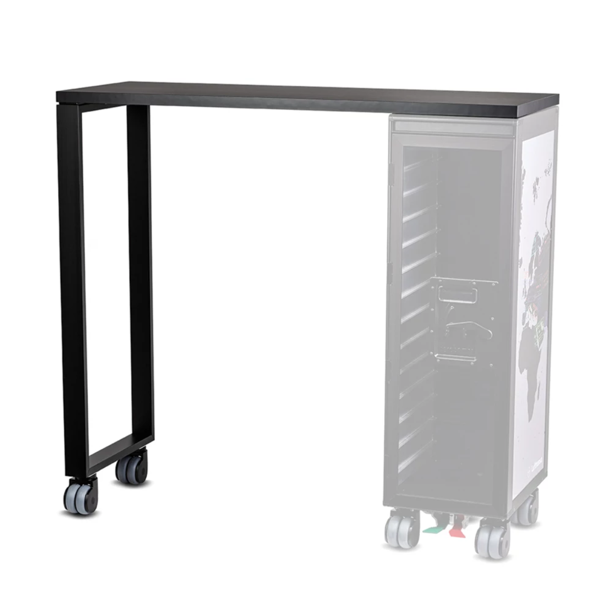 Bordbar High Table Add-On , Black