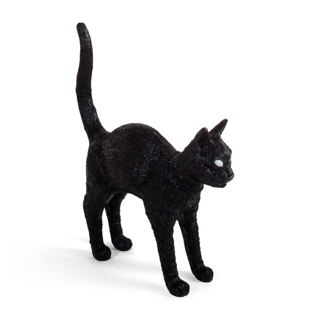 Seletti Jobby The Cat, black