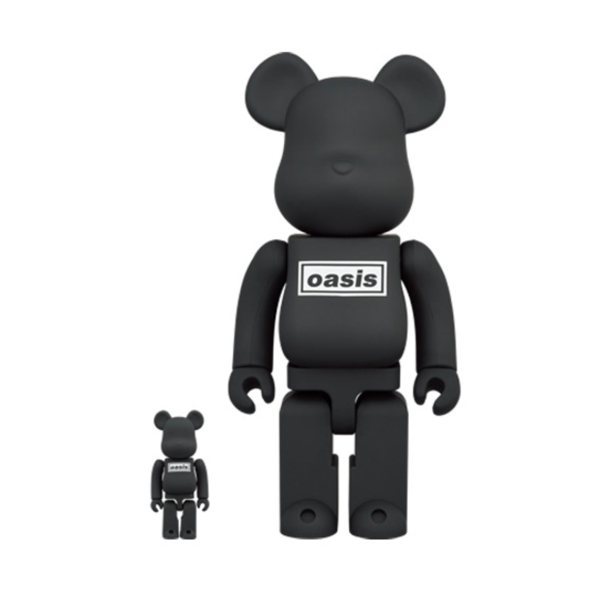BE@RBRICK Oasis Black Rubber 100% & 400%