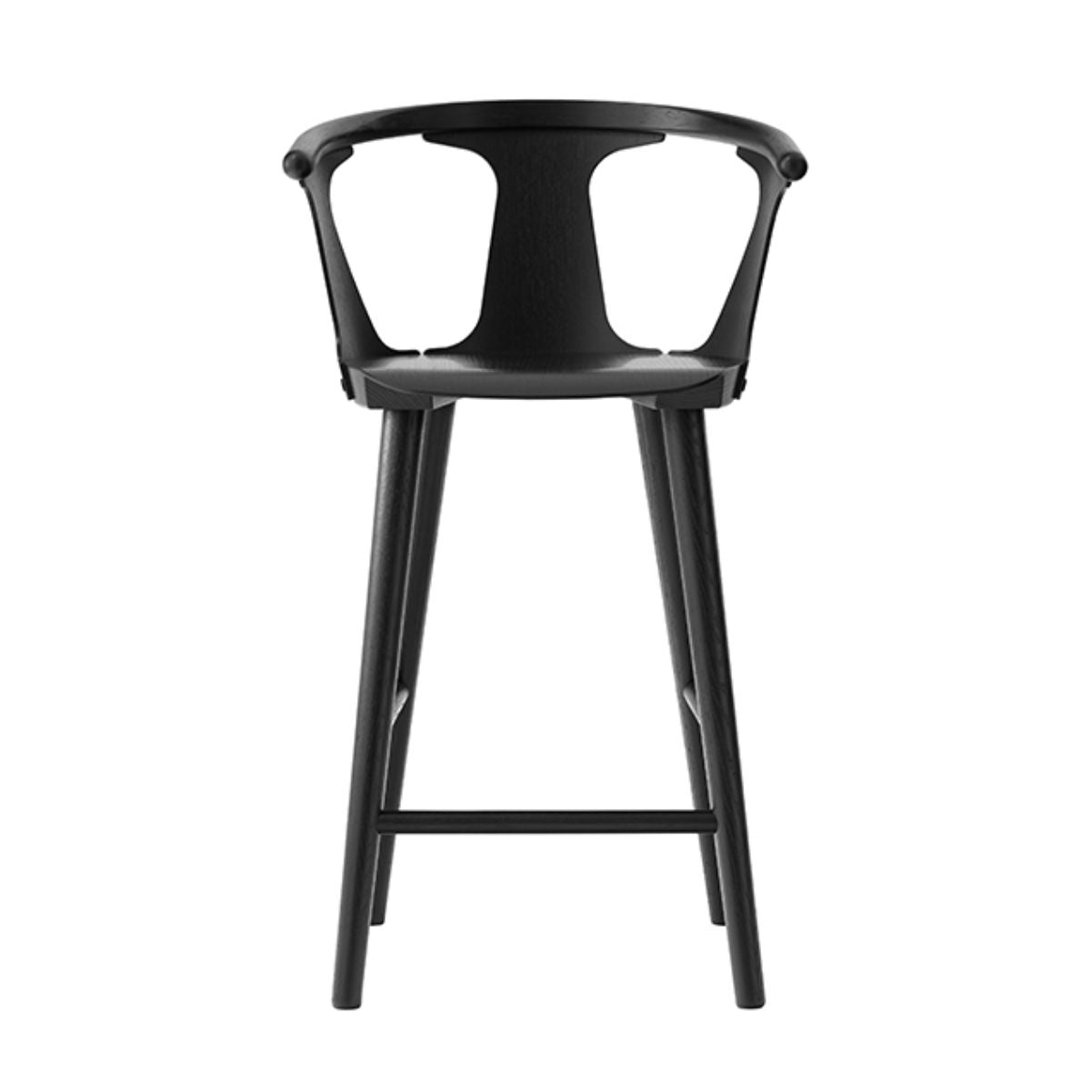 &Tradition SK7 In Between Counter Stool , Black Oak (65 cm)