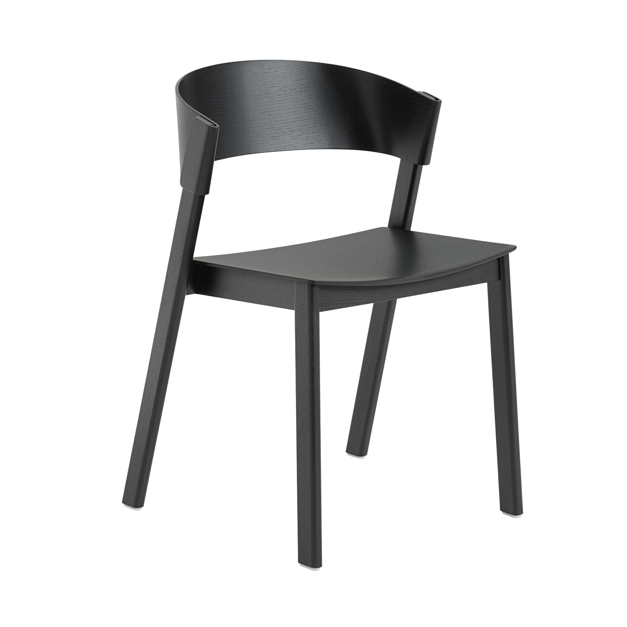 Muuto Cover side chair, black