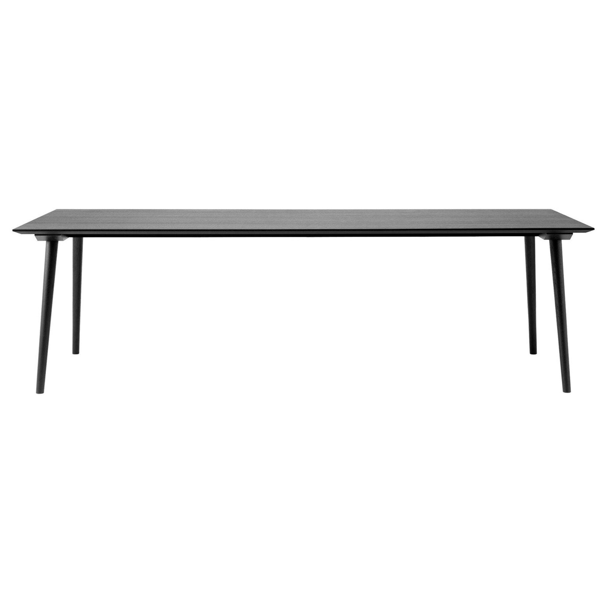 &Tradition SK6 In Between Rectangular Table W100xD250 , Black
