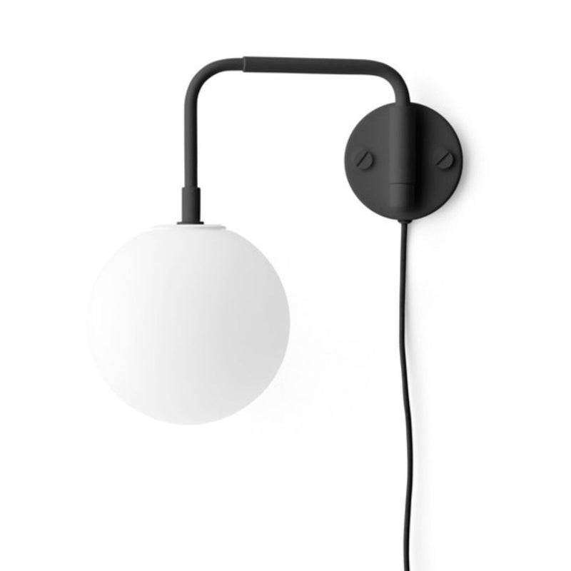 Menu Tribeca Staple wall lamp, with TR bulb, black