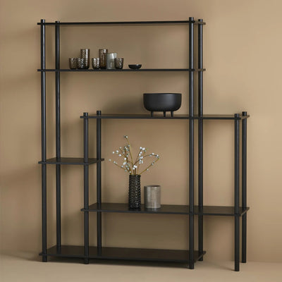 Woud Elevate Shelving System 11 , Black