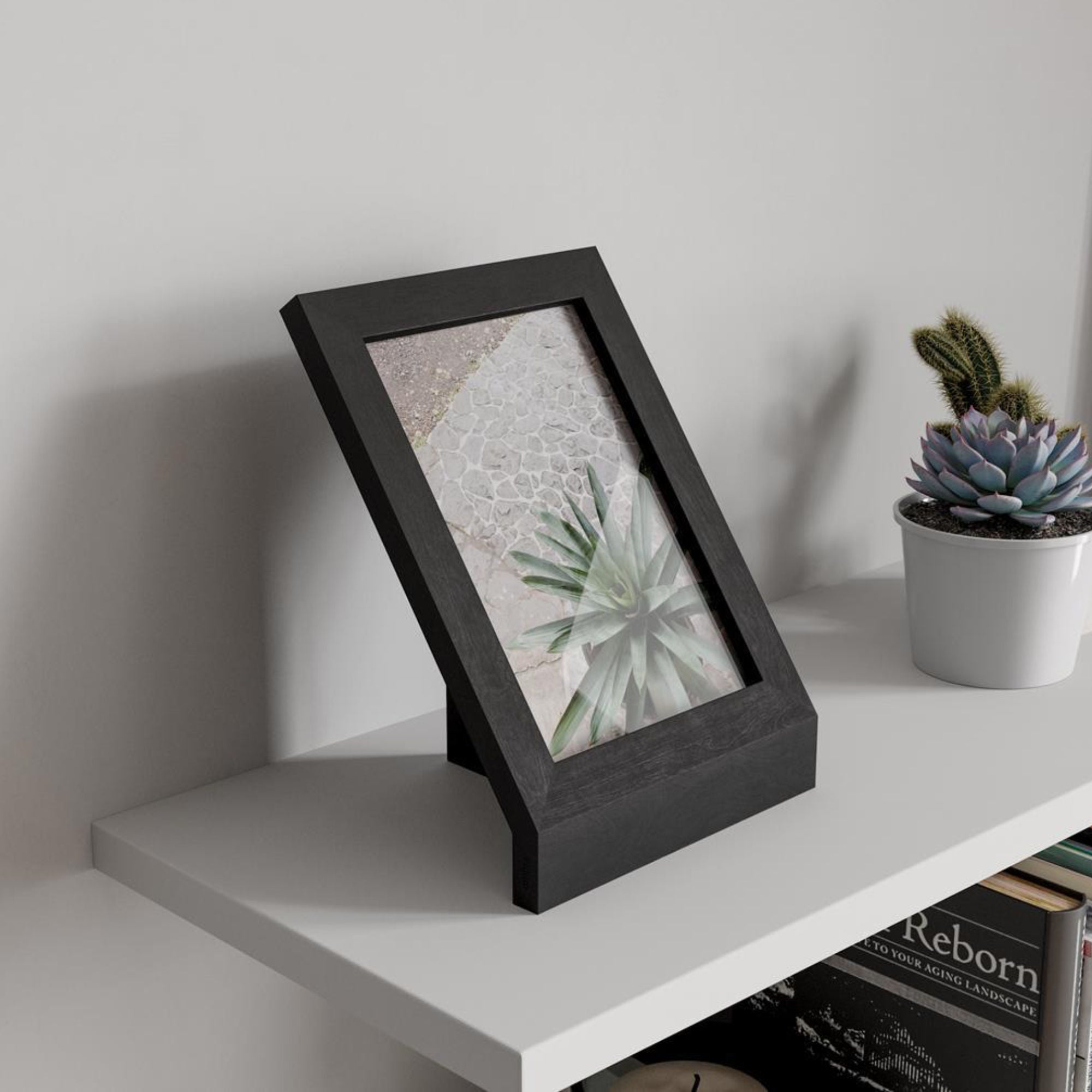 Umbra Podium Photo Display 13x18cm , Black